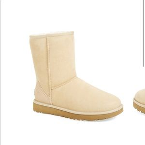 Sand Suede Ugg Boots